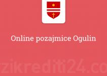 Online pozajmice Ogulin