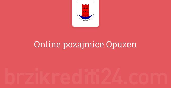 Online pozajmice Opuzen