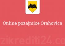 Online pozajmice Orahovica