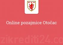 Online pozajmice Otočac