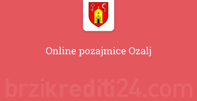 Online pozajmice Ozalj