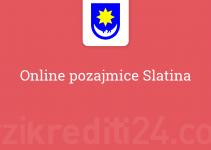 Online pozajmice Slatina
