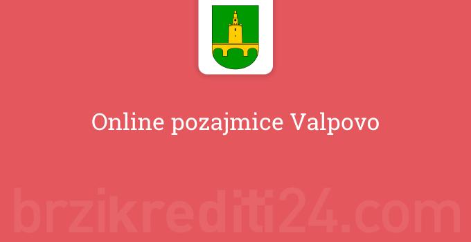 Online pozajmice Valpovo