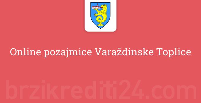 Online pozajmice Varaždinske Toplice