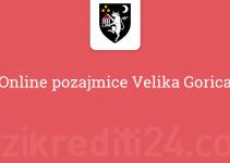 Online pozajmice Velika Gorica