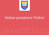 Online pozajmice Vodice