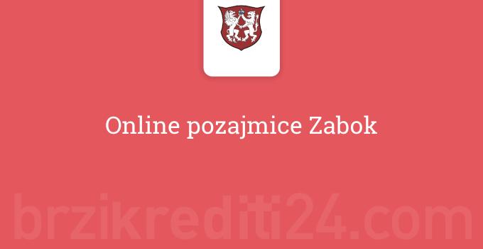 Online pozajmice Zabok