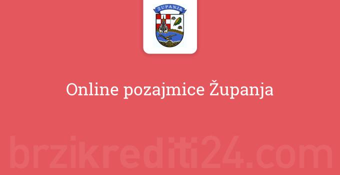 Online pozajmice Županja