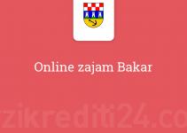 Online zajam Bakar