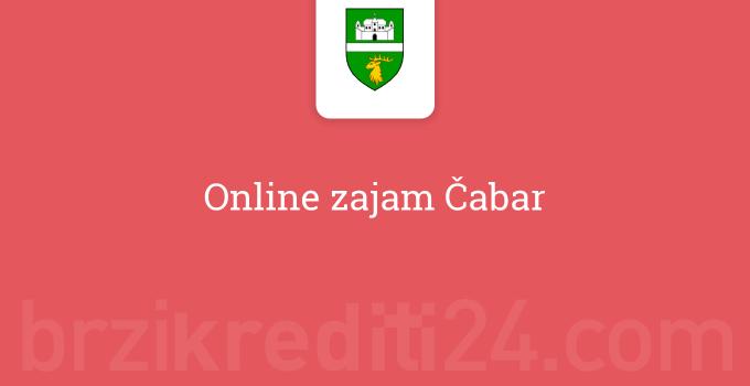 Online zajam Čabar