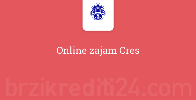 Online zajam Cres