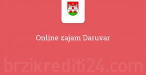 Online zajam Daruvar