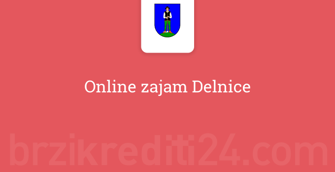 Online zajam Delnice