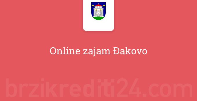 Online zajam Đakovo