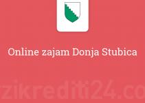 Online zajam Donja Stubica