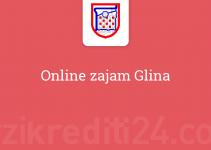 Online zajam Glina