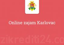 Online zajam Karlovac