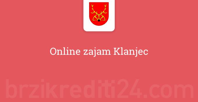 Online zajam Klanjec