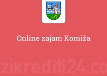 Online zajam Komiža