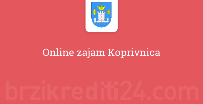 Online zajam Koprivnica