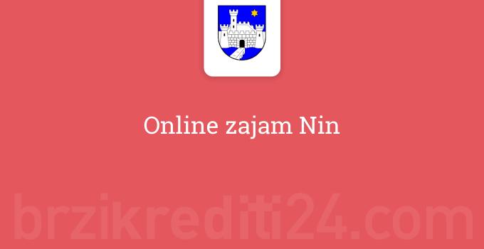 Online zajam Nin