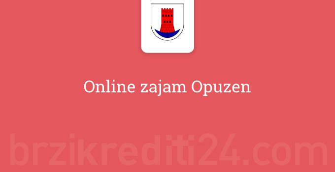 Online zajam Opuzen
