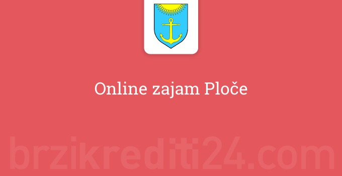 Online zajam Ploče