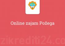 Online zajam Požega