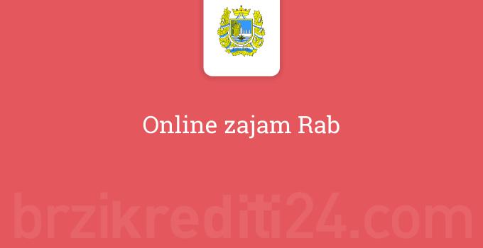 Online zajam Rab