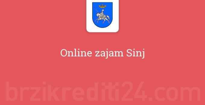 Online zajam Sinj