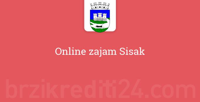 Online zajam Sisak