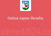 Online zajam Skradin