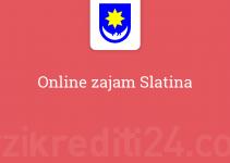 Online zajam Slatina