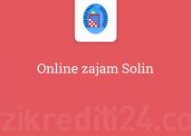 Online zajam Solin