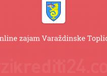 Online zajam Varaždinske Toplice