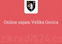 Online zajam Velika Gorica