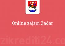 Online zajam Zadar