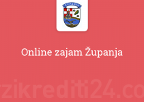 Online zajam Županja