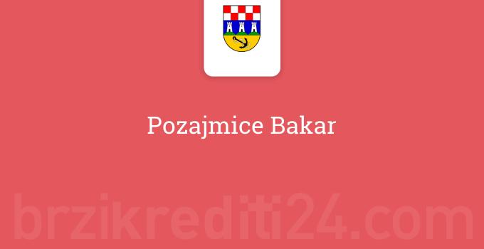 Pozajmice Bakar