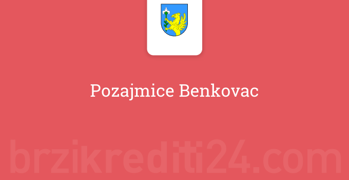 Pozajmice Benkovac