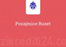Pozajmice Buzet