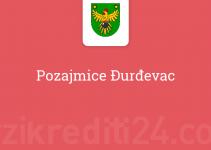 Pozajmice Đurđevac