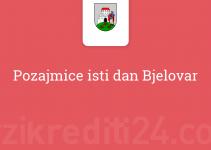 Pozajmice isti dan Bjelovar