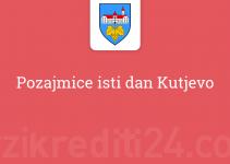 Pozajmice isti dan Kutjevo