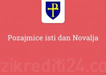 Pozajmice isti dan Novalja