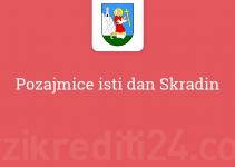 Pozajmice isti dan Skradin