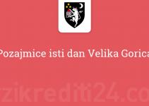 Pozajmice isti dan Velika Gorica