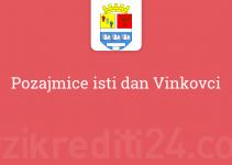 Pozajmice isti dan Vinkovci