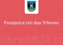 Pozajmice isti dan Vrbovec