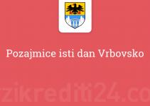 Pozajmice isti dan Vrbovsko